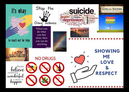 collage of positive images related to counseling