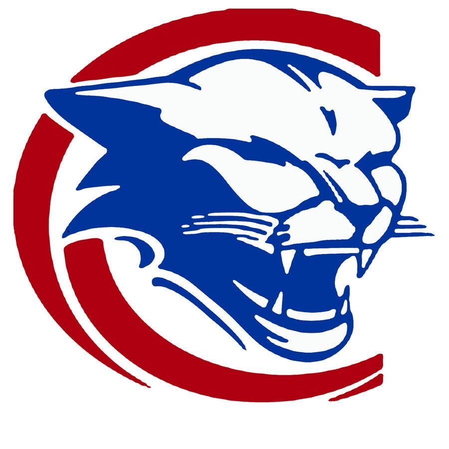 School logo of cougar gead