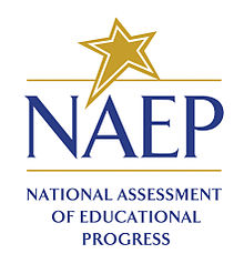 NAEP test logo with gold star