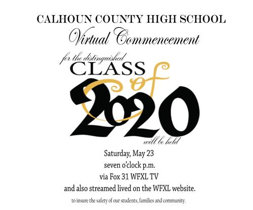 Calhoun County Virtual Graduation