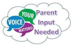 FY20 Parent Input Survey